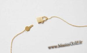 گردنبند قفل و کلید