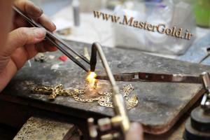 سوزاندن طلا