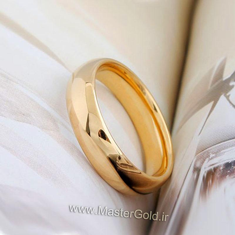 قیمت حلقه ازدواج رینگ ساده