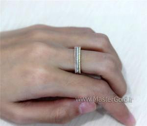 حلقه های جواهر 3 رنگ