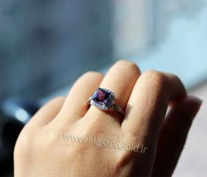 انگشتر جواهر آماتیس
