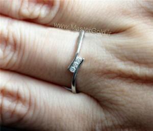 حلقه ظریف جواهر