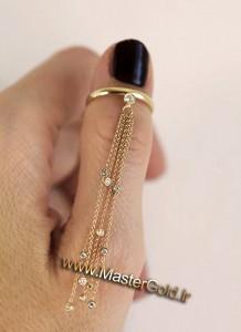 انگشتر آبشار الماس