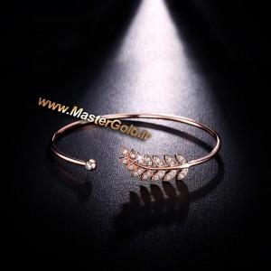 دستبند طرح برگ