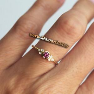انگشتر جواهر یاقوت