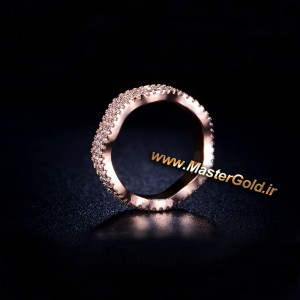 حلقه جواهر منحنی