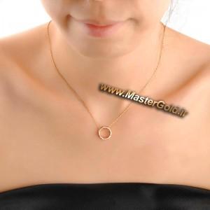 گردن آویز حلقه