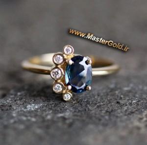 انگشتر جواهر توپاز