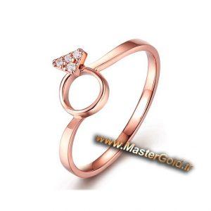 انگشتر جواهر الماس نشان