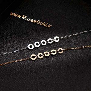 گردنبند حلقه ای ساده