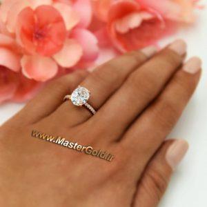 انگشتر جواهر سنگ دُر