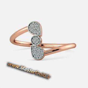 انگشتر جواهر قطره افشان