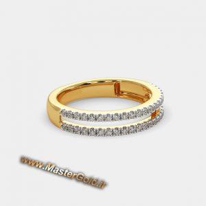 حلقه ازدواج دو رج