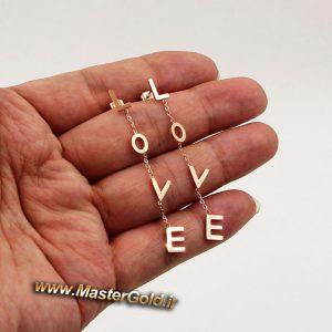 گردنبند و گوشواره عشق ابدی