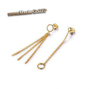 گوشواره حلقه و زنجیر