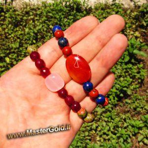 دستبند های سنگ طبیعی متولدین اردی بهشت ماه