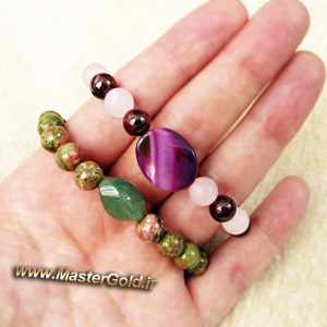 دستبند های سنگ طبیعی متولدین مرداد ماه