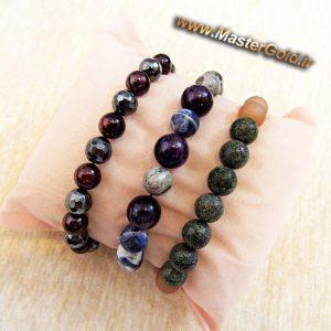 دستبندهای سنگ طبیعی متولدین شهریورماه