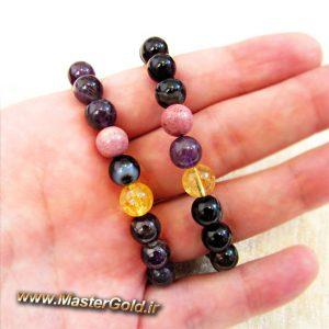 دستبند سنگ طبیعی سارا