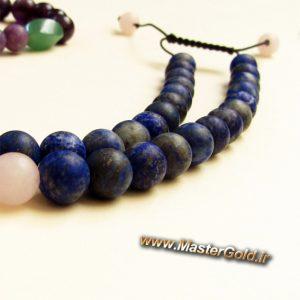 گردنبند سنگ طبیعی رو لباسی